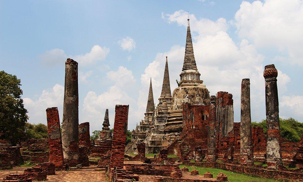 Wat Phra Si Sanphet II - Ayutthaya bezienswaardigheden