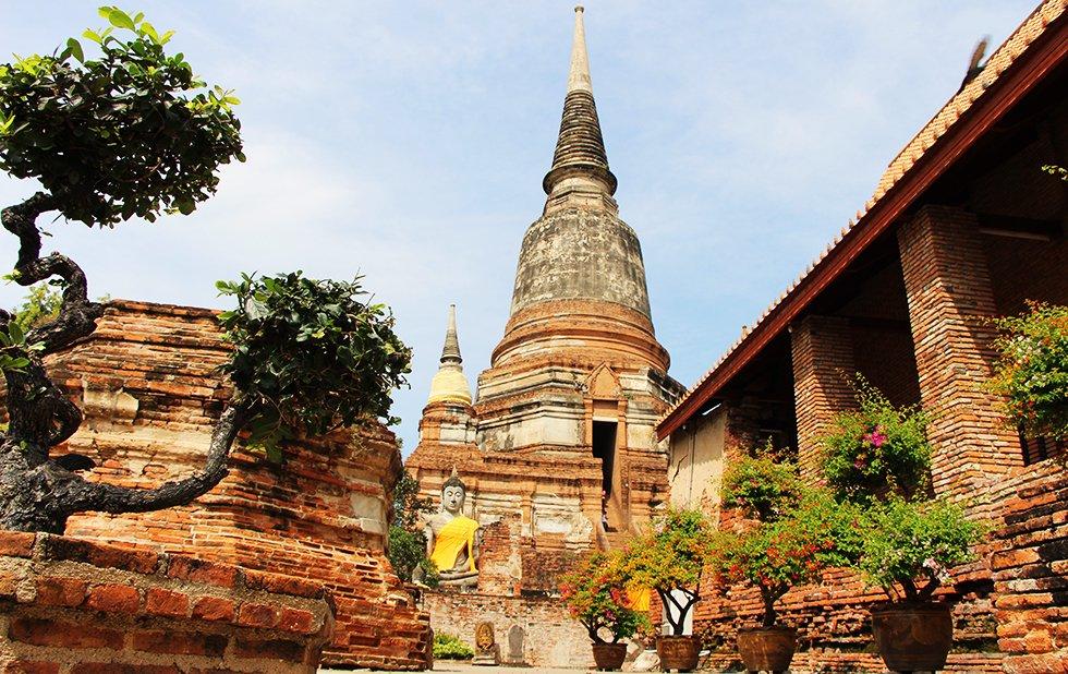 Wat Yai Chai Mongkhon II - Ayutthaya bezienswaardigheden