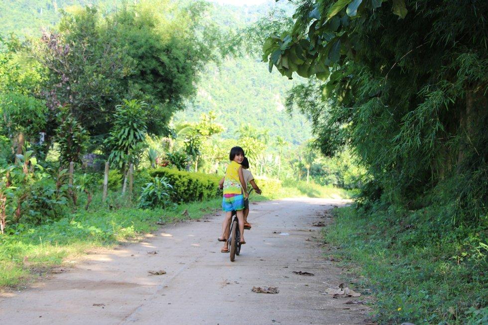 Lekker fietsen - Thung Yai