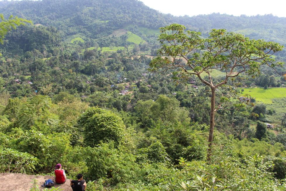 3 dagen hiken door Thung Yai - gewoon geregeld bij de receptie