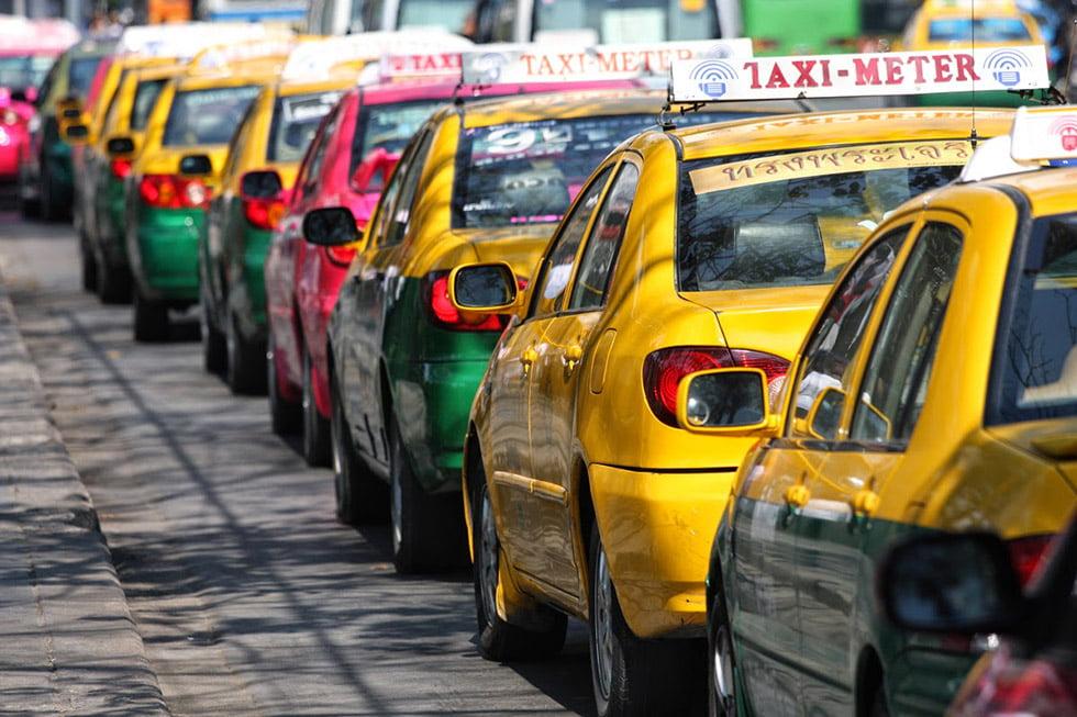 Taxi's in Bangkok