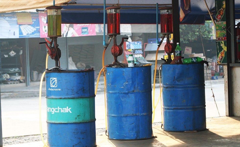 Benzine Thailand - Scooter huren Thailand