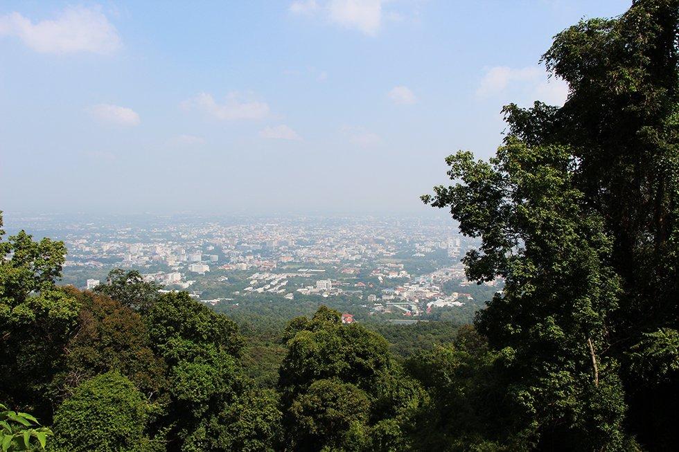Doi Suthep uitzicht - Chiang Mai bezienswaardigheden