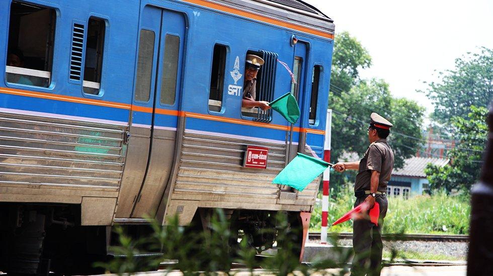 Lokale trein Ayutthaya