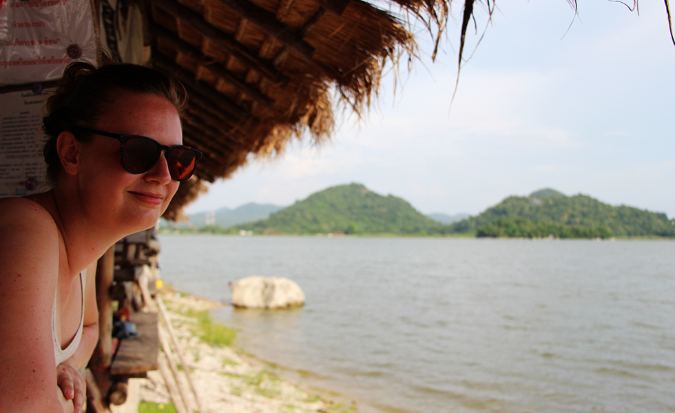 Mariska bij Ang Sap Lek Lopburi