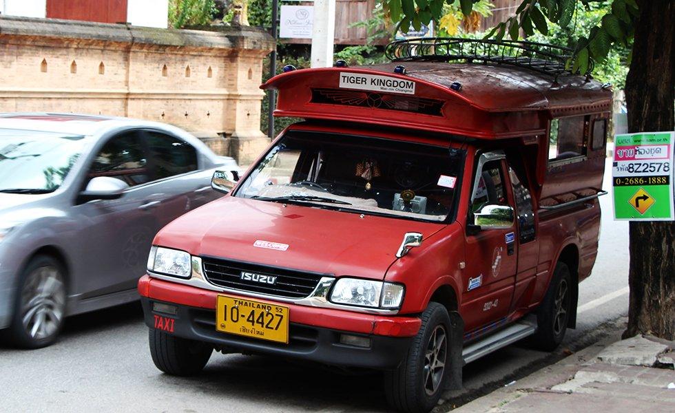 Rode Taxi Chiang Mai - Chiang Mai bezienswaardigheden