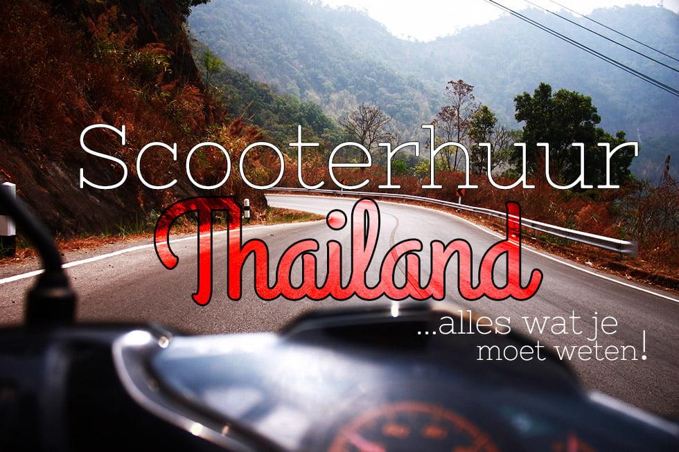 Scooterhuur Thailandi