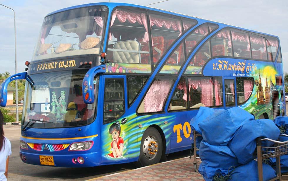 Toerist bus veilig