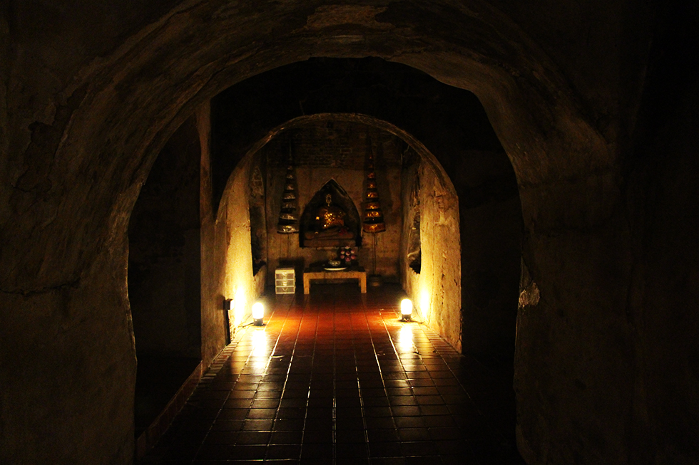 Tunnel Wat Umong - Chiang Mai bezienswaardigheden
