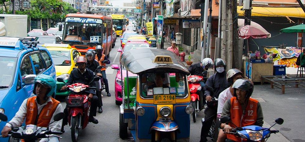 Verkeer Bangkok - Reisadvies Thailand - Qsimple