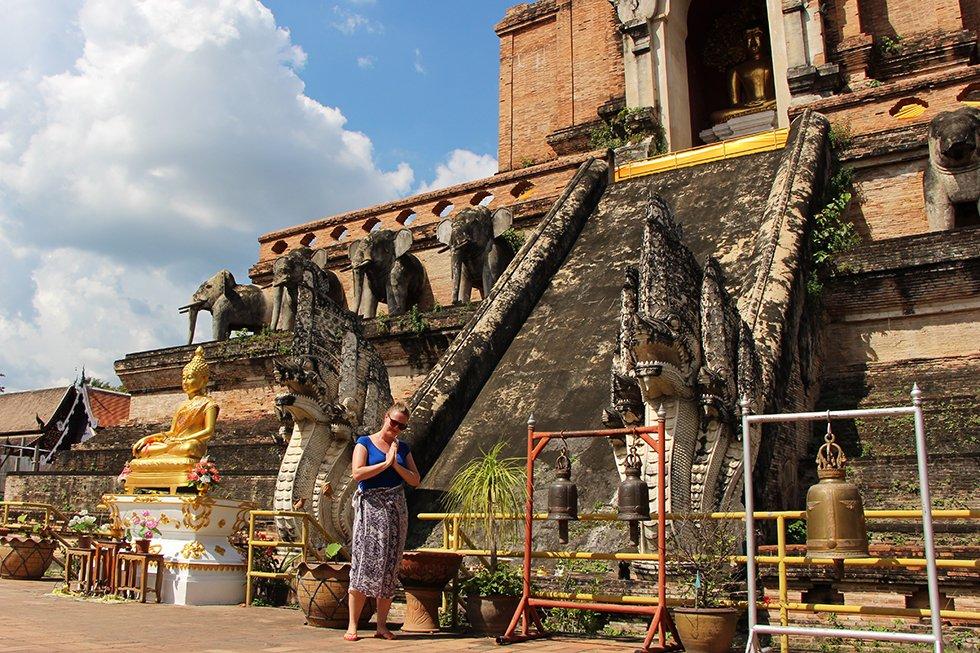 Wat Chedi Luang - Chiang Mai bezienswaardigheden