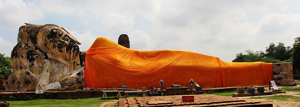 Wat Lokoyasutharam - Ayutthaya bezienswaardigheden