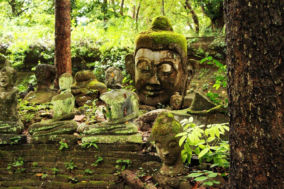 Wat Umong - Chiang Mai bezienswaardigheden
