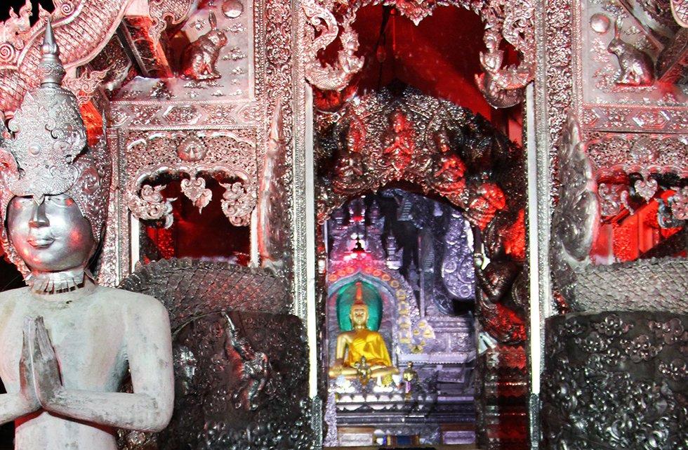 Zilveren tempel - Chiang Mai bezienswaardigheden