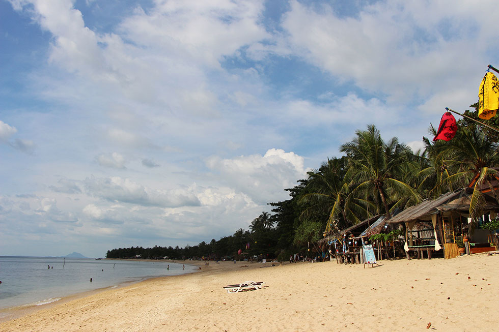 Klong Khao Beach - Stranden Koh Lanta