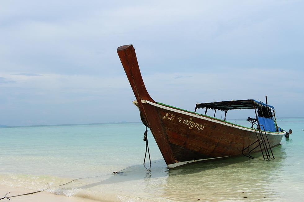Boot op Koh Rok