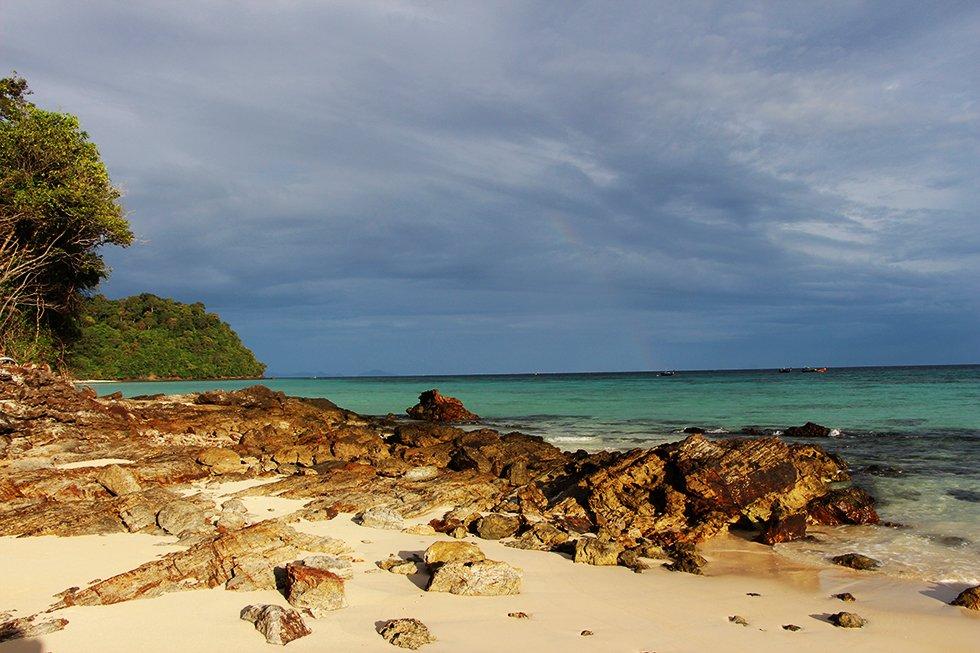 Onbewoond eiland Koh Rok