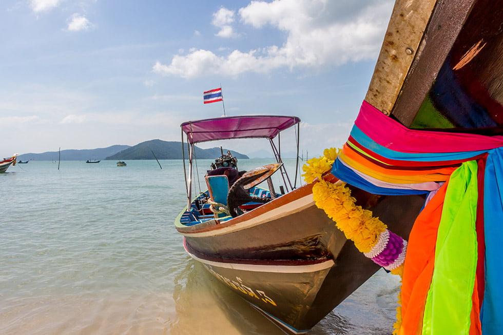 Boot Koh Samui Koh Tan