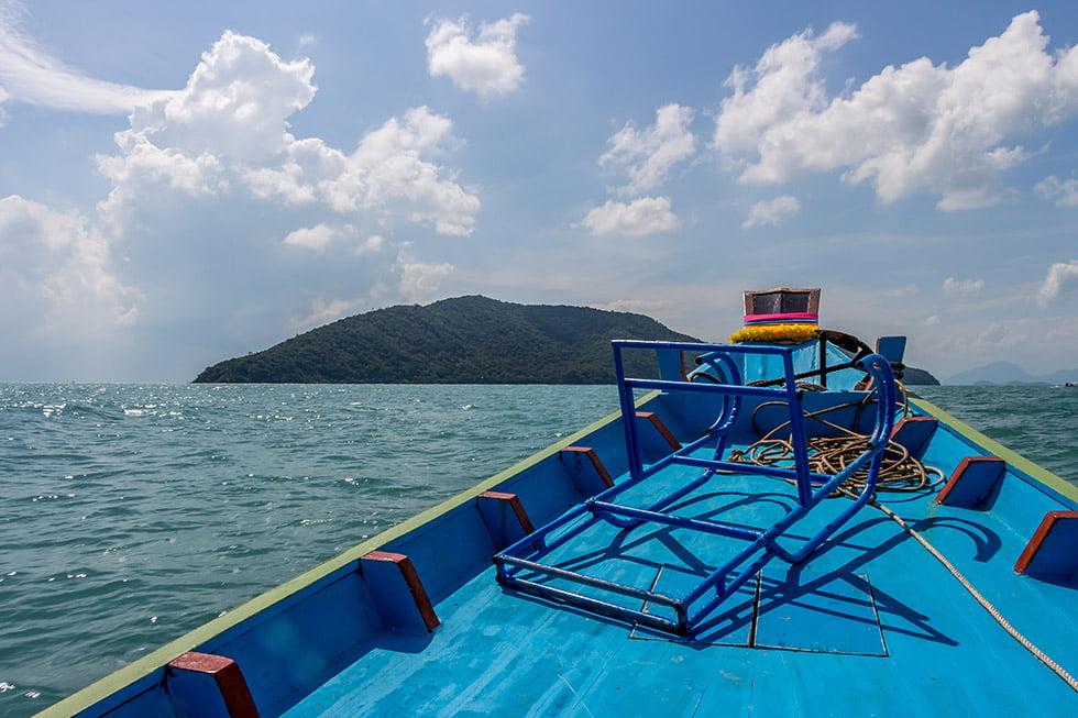 Boot naar Koh Tan