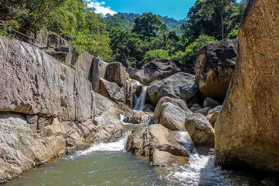 Hin Lad waterval Koh Samui