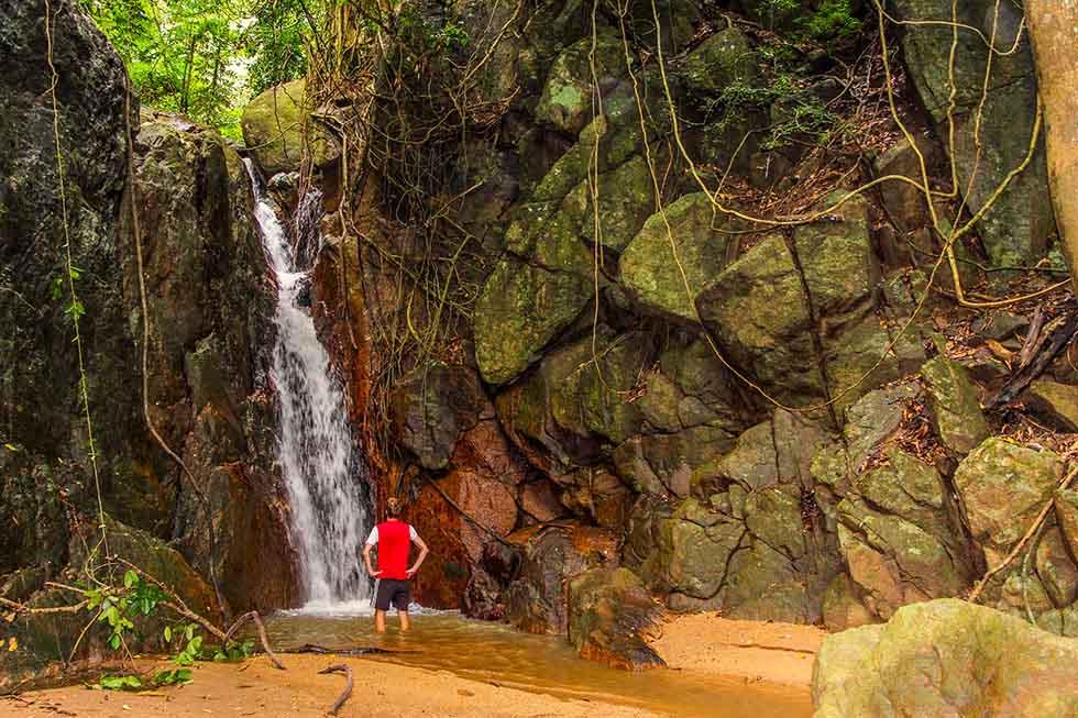 Na Muang Waterval op Koh Samui