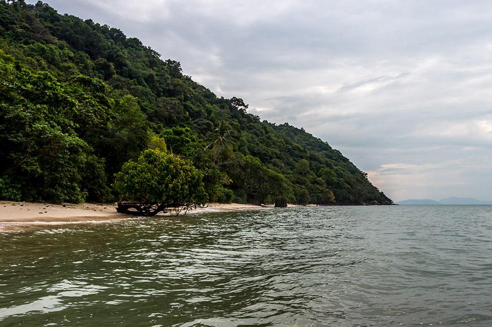 Koh Tan strand