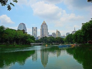Gratis dingen doen in Bangkok - Lumpini Park - Foto: Christopher Bearman