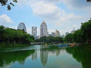 Gratis dingen doen in Bangkok - Lumpini Park - Foto: Christopher Bearman