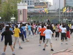 Gratis dingen doen in Bangkok - Saranrom Park - Foto: Lash World Tour