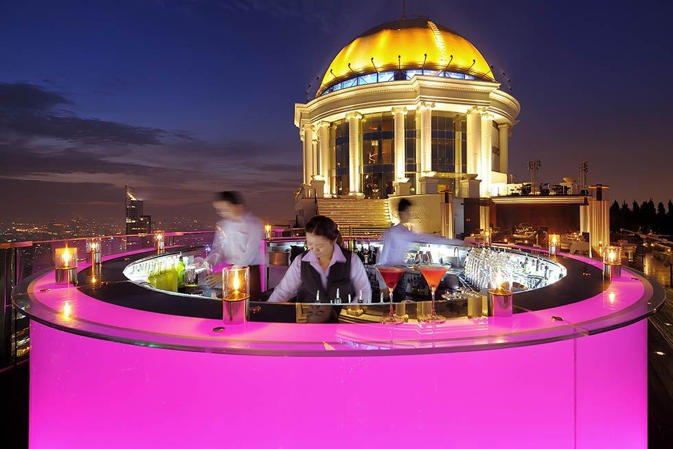 Sirocco Skybar - Bezienswaardigheden Bangkok