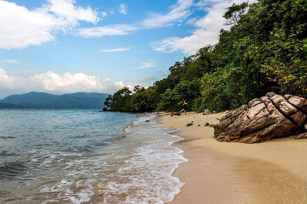 Het verlaten strandje op Koh Tan