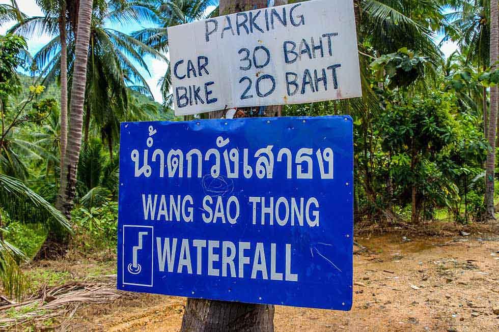 Ma Nuang Waterval op Koh Samui