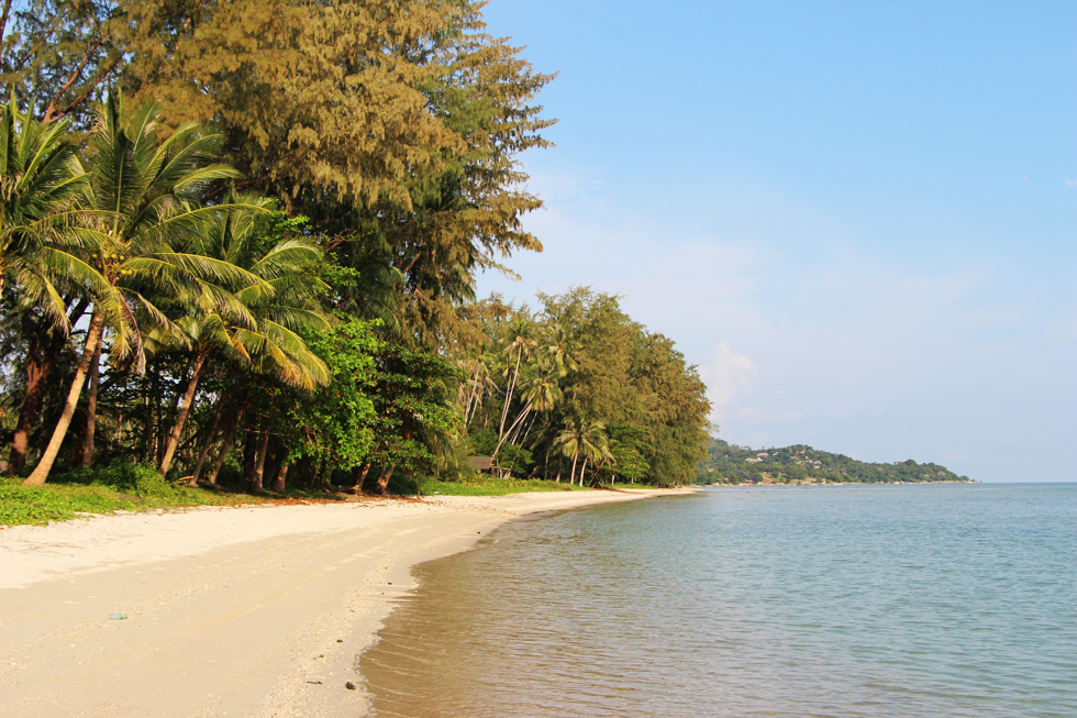Bang Kao strand op Koh Samui