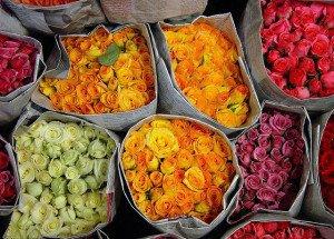 Gratis dingen doen in Bangkok - Bloemenmarkt - Foto: Xosé Castro Roig