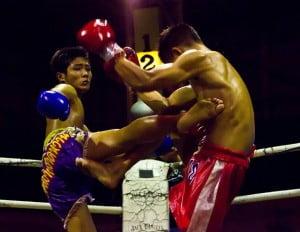 Gratis dingen doen in Bangkok - Muay Thai - Foto: Kin Chan