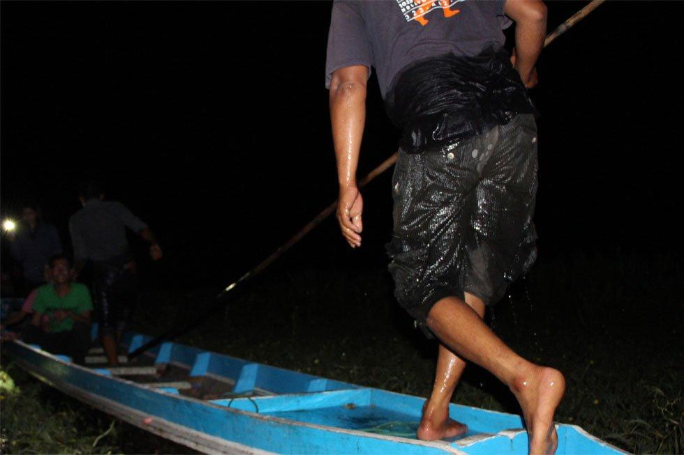 Onze redding op het Meer van Songkhla