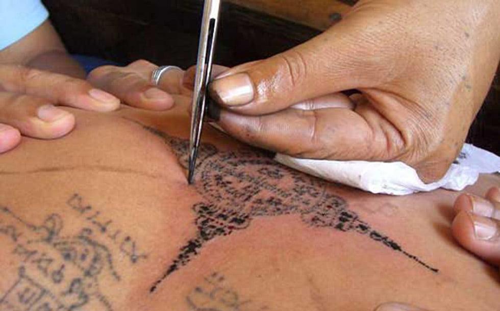 traditionele tattoo thailand