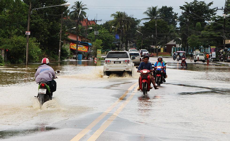 Overstromingen Thailand