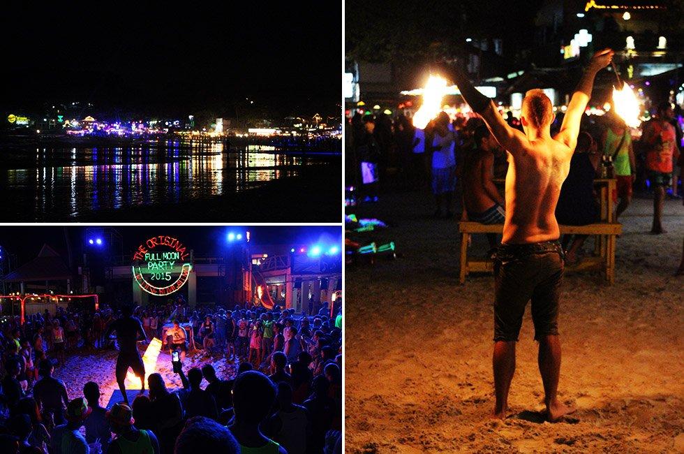 Fikkie stoken - Full Moon Party Thailand