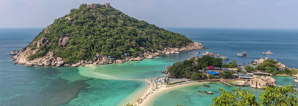 Koh Nang Yuan Zuid-Thailand
