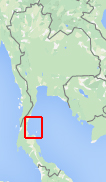 Kaart van Koh Tao