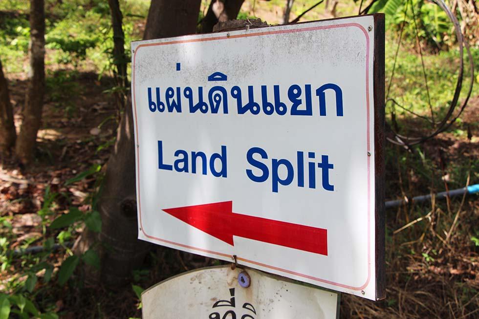 Land Split