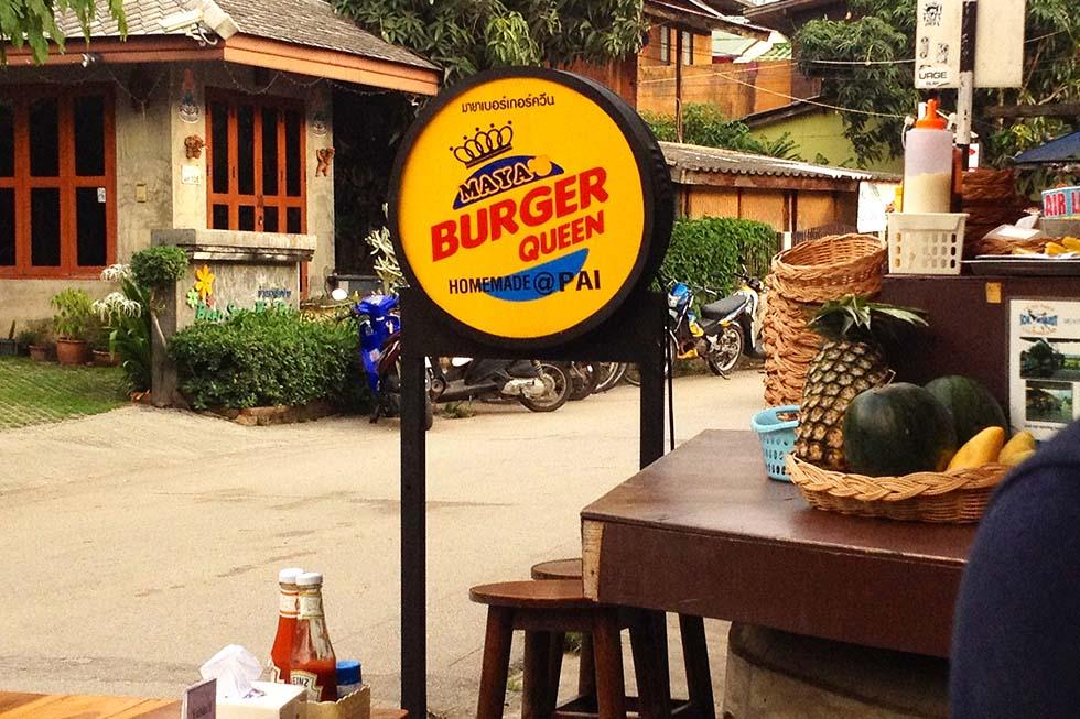 Maya Burger Queen Pai