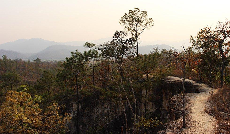 Pai Canyon Pad tegenlicht