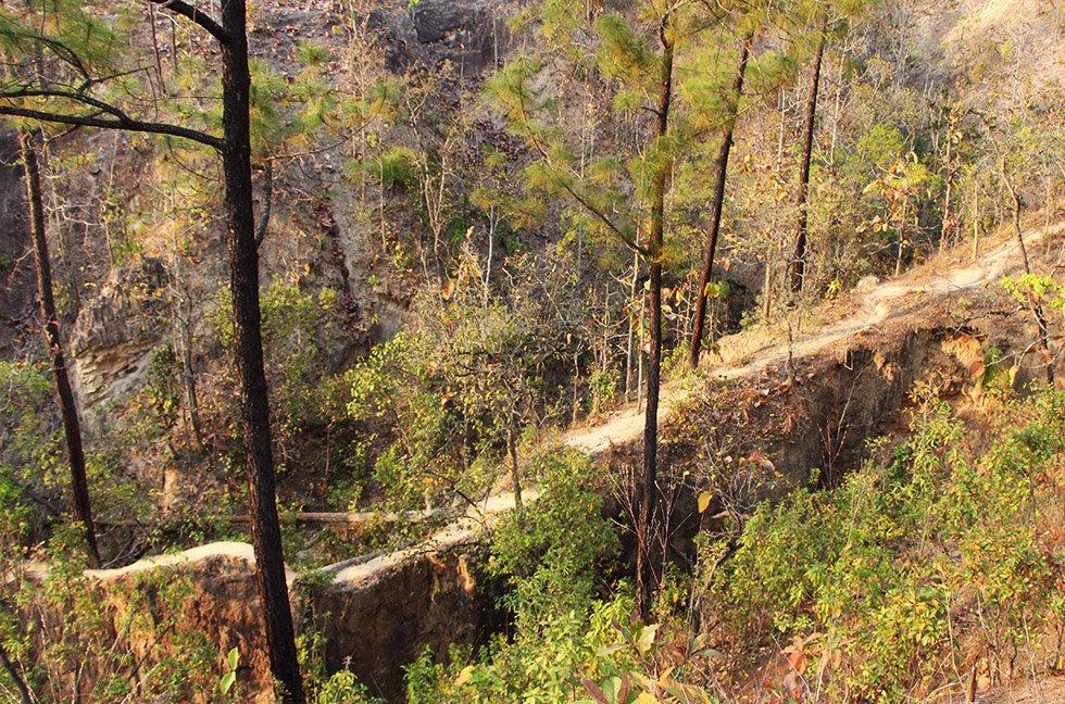 Pai Canyon smal paadje