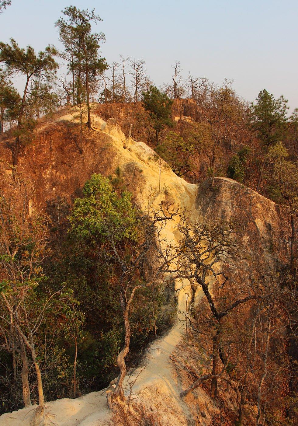 Pai Canyon steil
