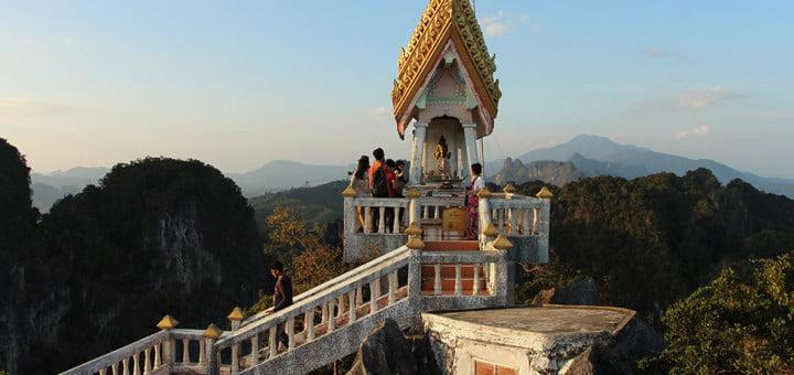Tiger Cave Tempel in Krabi