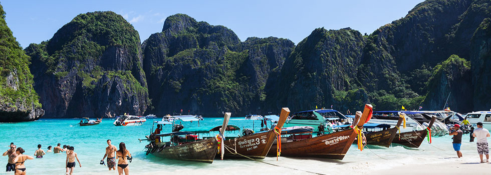 Eilanden Thailand - Koh Phi Phi - Foto: Wikimedia Commons