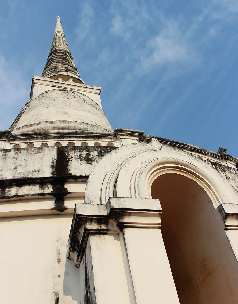 Historical Park Petchaburi Chedi