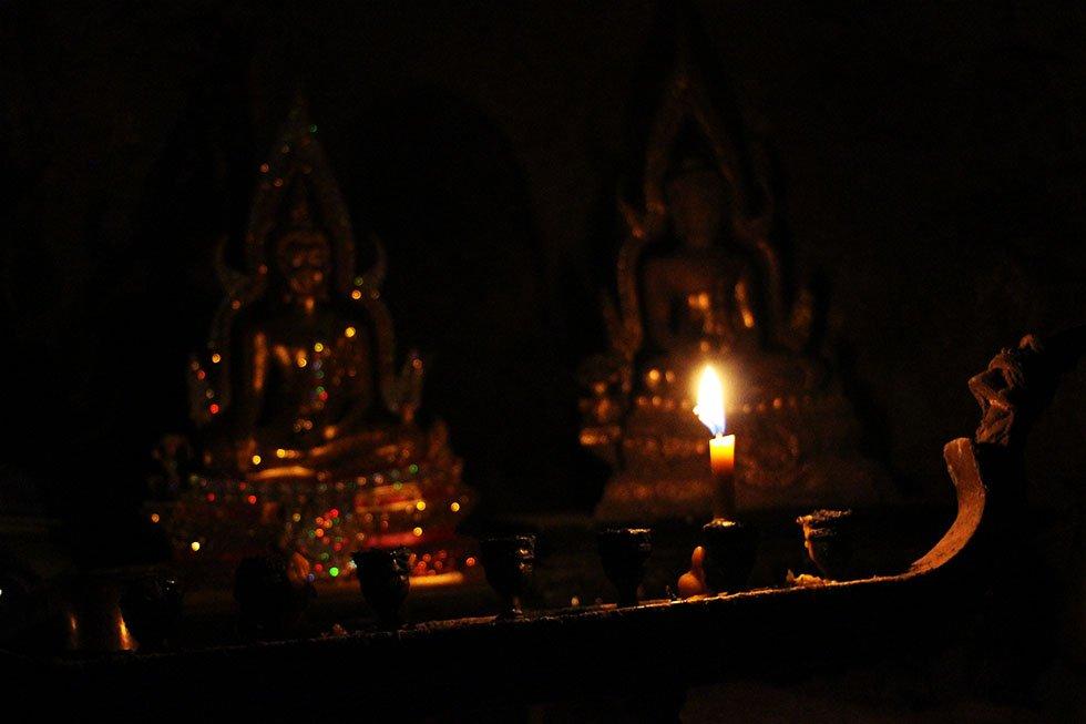 Phraya Nakhon Cave Kaarsjes